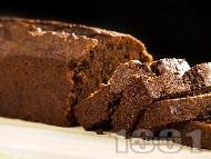 Рецепта Бърз и лесен какаов сладкиш с настъргана тиква и канела